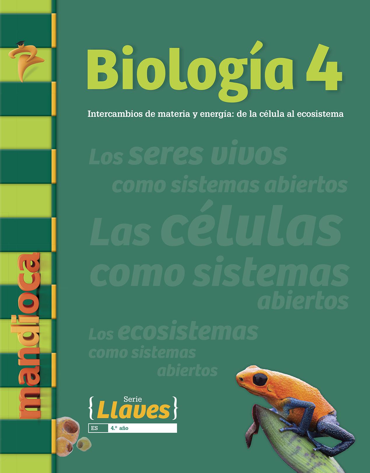 biolog u00eda 4 es - serie llaves